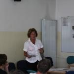 Dragica Gornik je predstavila program učnega dela nemškega popotnega jezika