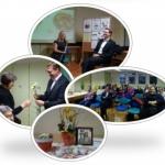 Druženje z županom ob kavici in pogovor o dejavnostih in razvojnih potencialih občine so lahko ne samo poučna, temveč tudi prijetna srečanja.