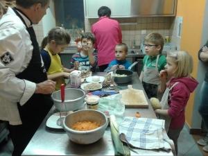 6. kuharska delavnica OŠ Fara