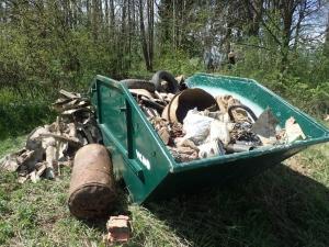 Smeti odstranjene iz Vodne jame 3 pri Klinji vasi, foto: Tomaz Kranjc