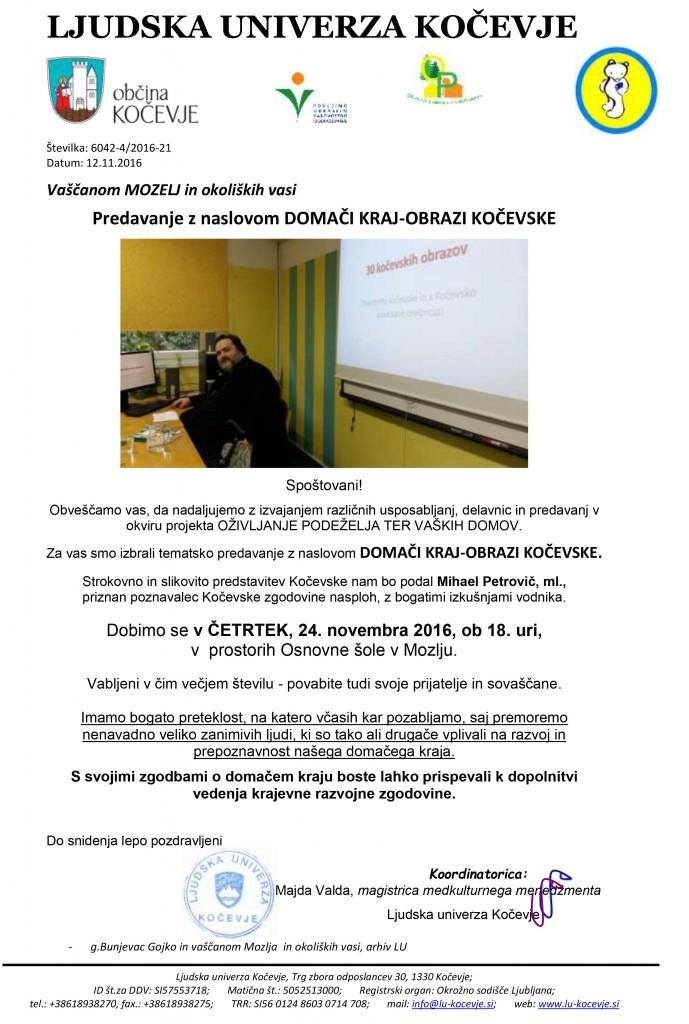 vabilo-OP-DOMAČI KRAJ-obrazi kočevske-MihaelP-24-11-MOZELJ